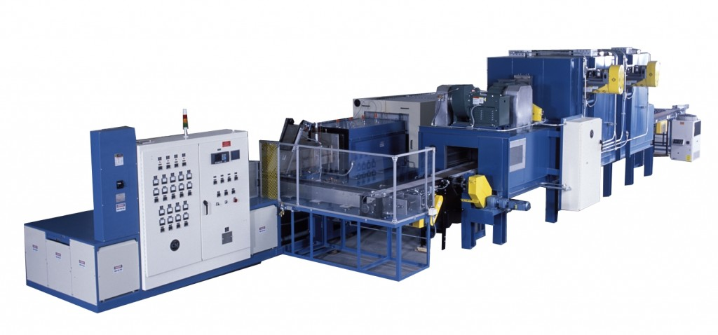 CM 400 Pusher furnace for continuous production